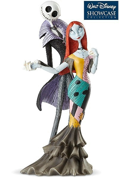 Disney Showcase Couture de Force NBX Jack and Sally Figurine